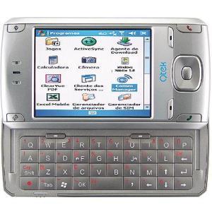 Qtek com teclado lateral